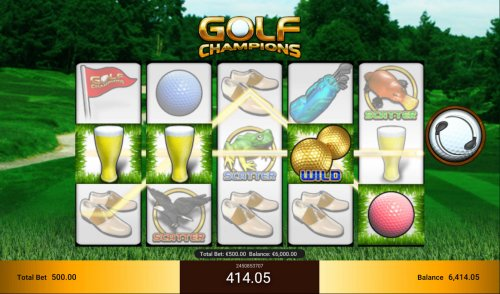 Images of Golf Champions