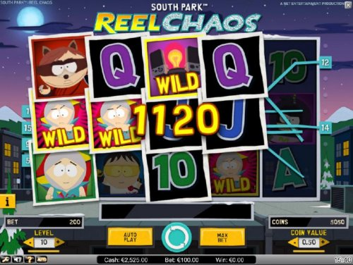 Kyles Overlay Feature triggers multiple winning paylines and an 1120 coin jackpot by Hotslot