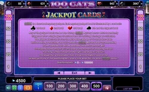 Jackpot Cards Rules by Hotslot