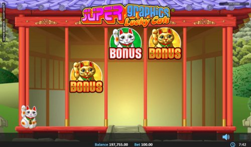 Hotslot image of Super Graphics Lucky Cats