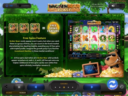 Free Spins Feature Rules - Hotslot