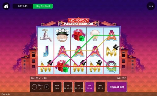 Images of Monopoly Paradise Mansion