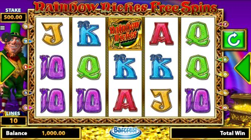 Rainbow Riches Free Spins by Hotslot