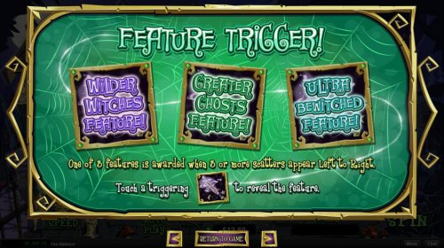 Feature Trigger by Hotslot