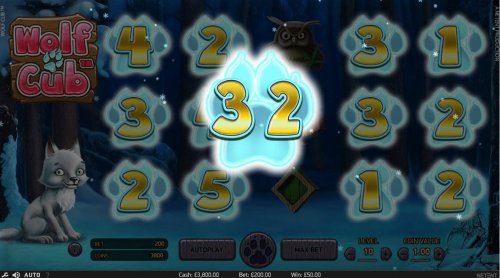 Reels containing scatter symbols are filled with numbers and respun. The total numbers from all the reels respun is awarded as the number of Free Spins awarded to player. by Hotslot