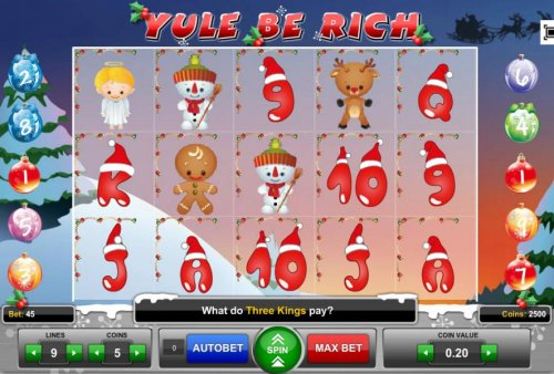 Hotslot image of Yule Be Rich