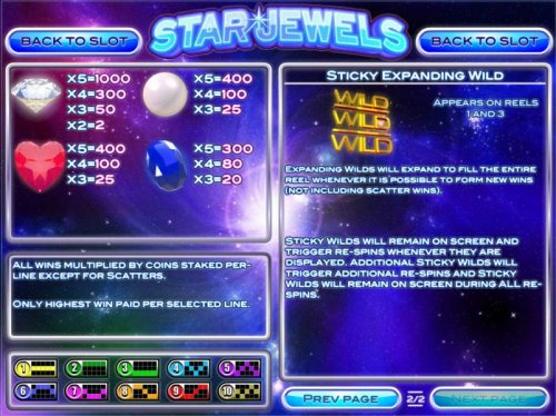 Images of Star Jewels