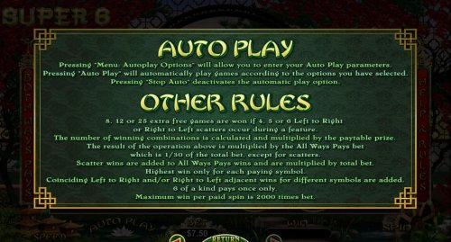 General Game Rules - Hotslot