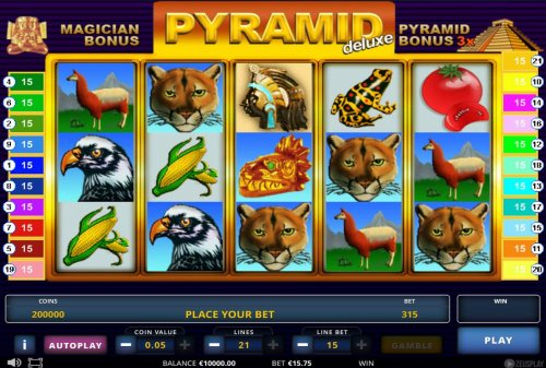 Hotslot image of Pyramid Deluxe