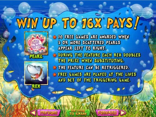Win up to 16x pays! Free Game rules by Hotslot