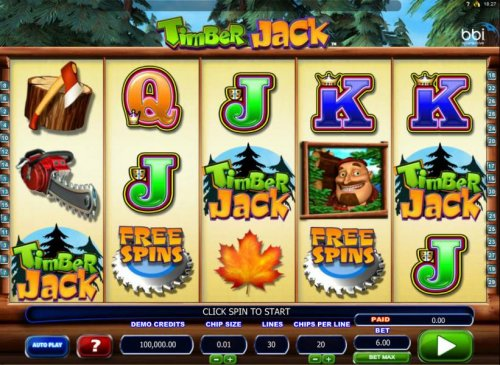 Timber Jack screenshot