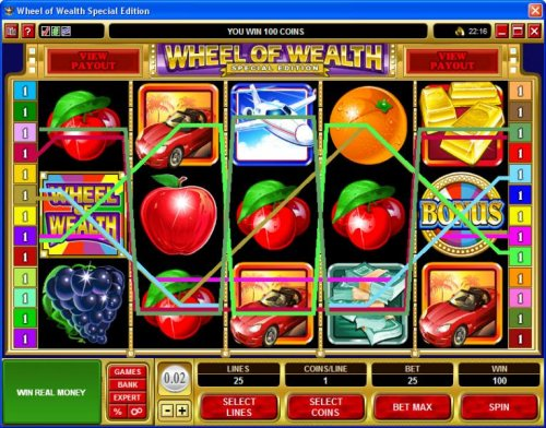 Wheel of Wealth Special Edition by Hotslot