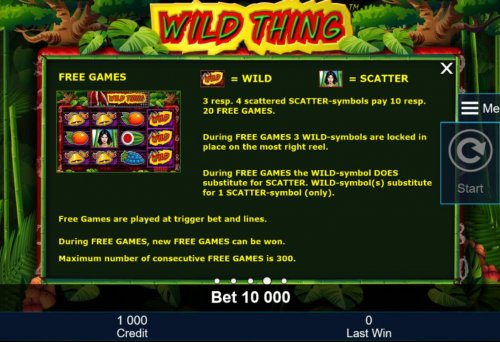 Wild Thing screenshot