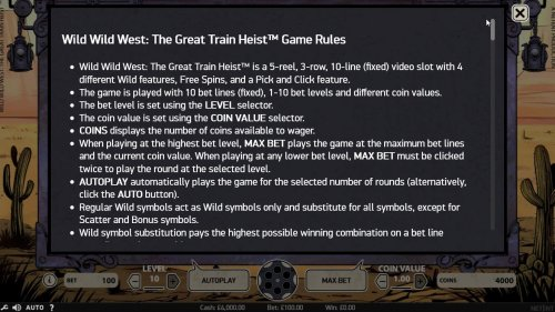 Images of Wild Wild West The Great Train Heist
