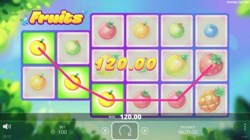 Fruits screenshot