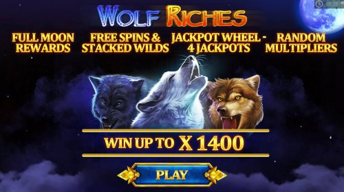 Hotslot image of Wolf Riches