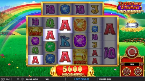 Images of Rainbow Riches Megaways