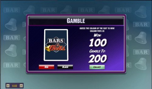 gamble feature available after each winning spin - Hotslot