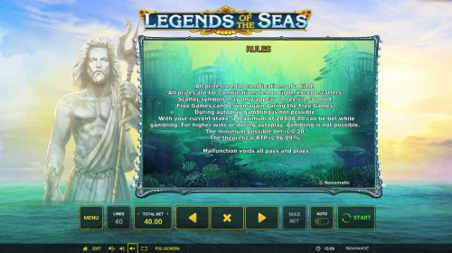 Hotslot image of Legends of the Seas