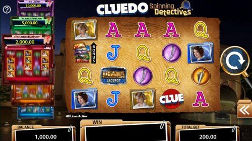 Cluedo Spinning Detectives by Hotslot
