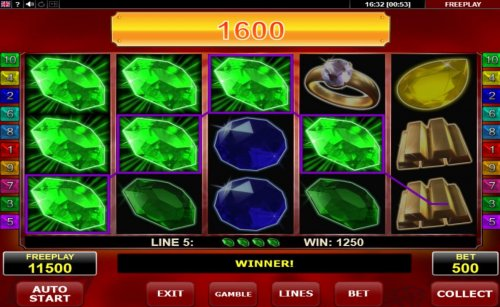 A 1600 coin big win by Hotslot
