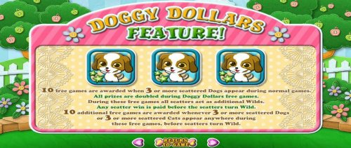 Doggy Dollars Feature Rules by Hotslot