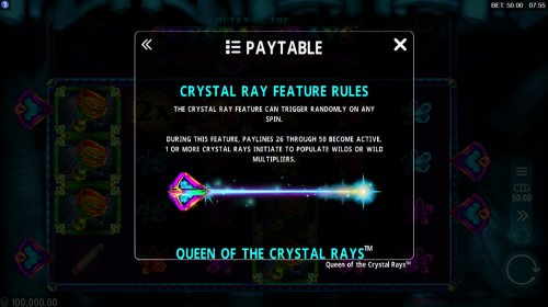 Images of Queen of the Crystal Rays