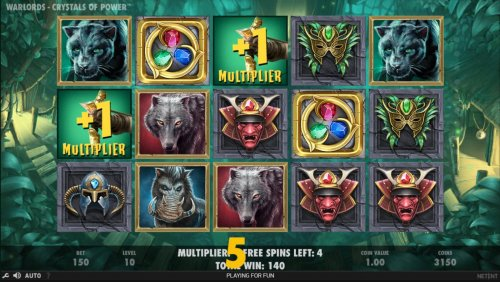 Earn extra free spins for every scatter symbols that lands on the reels during the Free Spins feature. - Hotslot