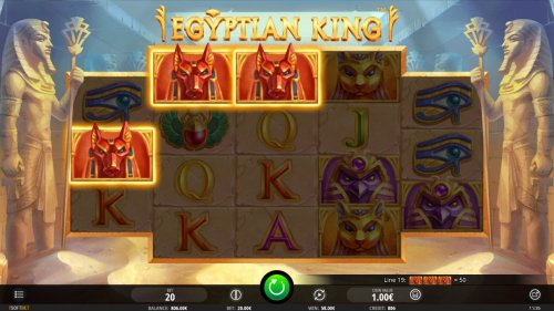 Images of Egyptian King
