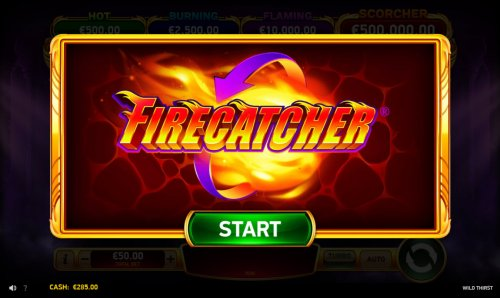 Firecatcher feature activated by Hotslot