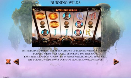 Burning Wilds Rules by Hotslot