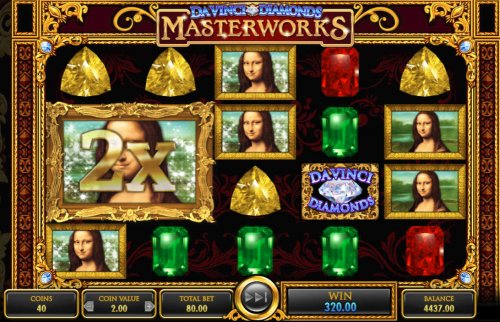 Hotslot image of Da Vinci Diamonds Masterworks