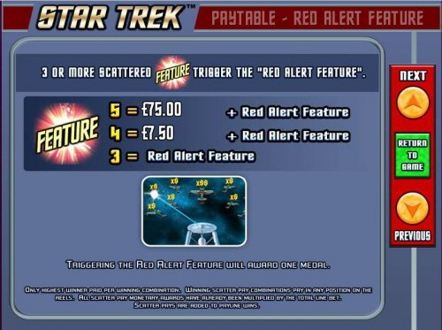Hotslot image of Star Trek: Red Alert