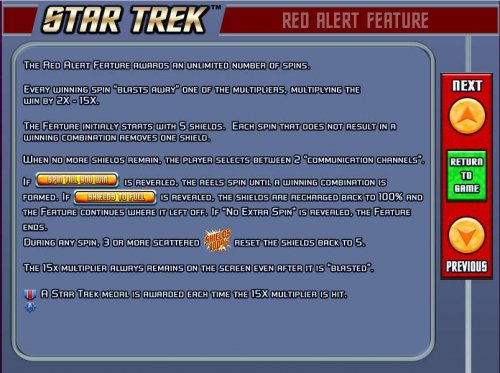 red alert feature game rules. - Hotslot