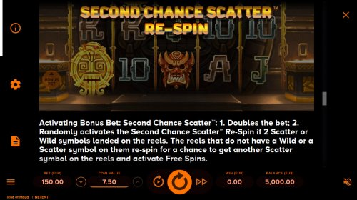 Hotslot - Second Chance Scatter Re-Spin