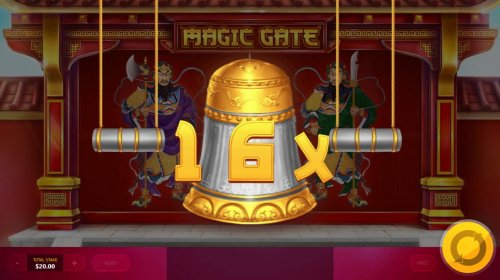 Hotslot - Ring the bell to increase the win multiplier.