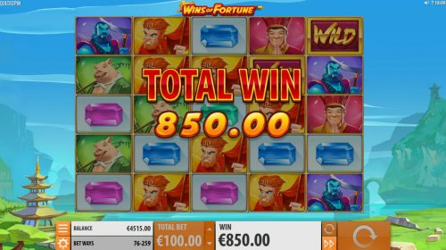 Super Respin triggers an 850.00 jackpot by Hotslot