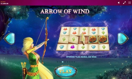 Arrow of Wind - Spinning tiles reveal big wins. by Hotslot