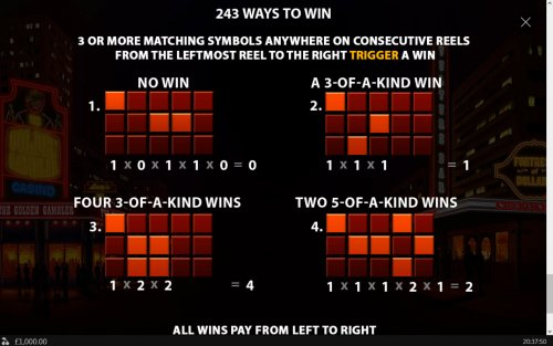 243 Ways to Win by Hotslot