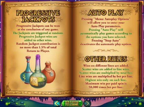 Hotslot - Progressive jackpots can be won at the conclusion of any game. The jackpots are triggered at random.