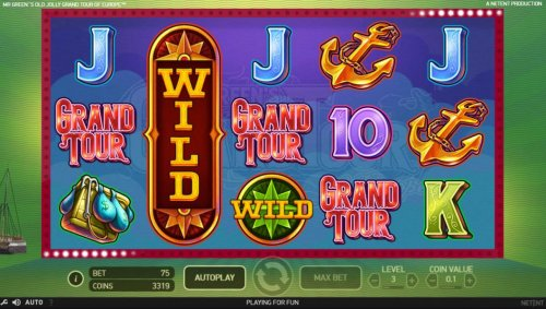 Expanded Wild on reel 2 triggers a 4 of a kind and a big win. - Hotslot