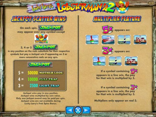 Images of Lucky Larry's Lobstermania 2