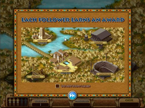 Each follower earns and award. You will place your followers on the map to earn prizes. by Hotslot