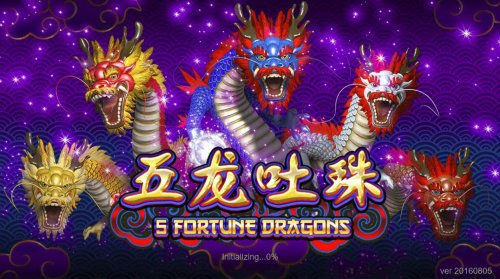Images of 5 Fortune Dragons