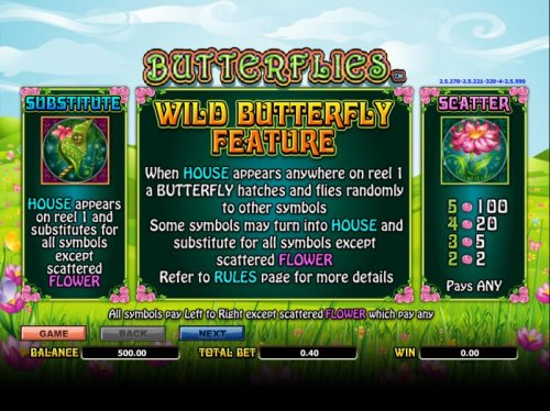 wild, scatter and bonus feature rules by Hotslot