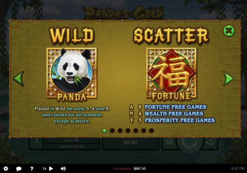 Wild and Scatter Symbol Rules by Hotslot