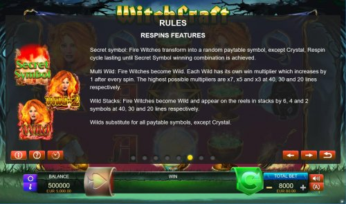 Respins Feature Rules - Hotslot