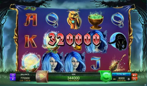 Hotslot - Bonus feature pays out a total of 320000 coins