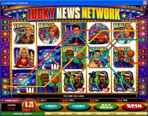 Lucky News Network by Hotslot