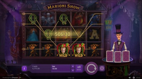 Multiple winning paylines triggers a big win and add 2 cards to the croupiers cards.! by Hotslot
